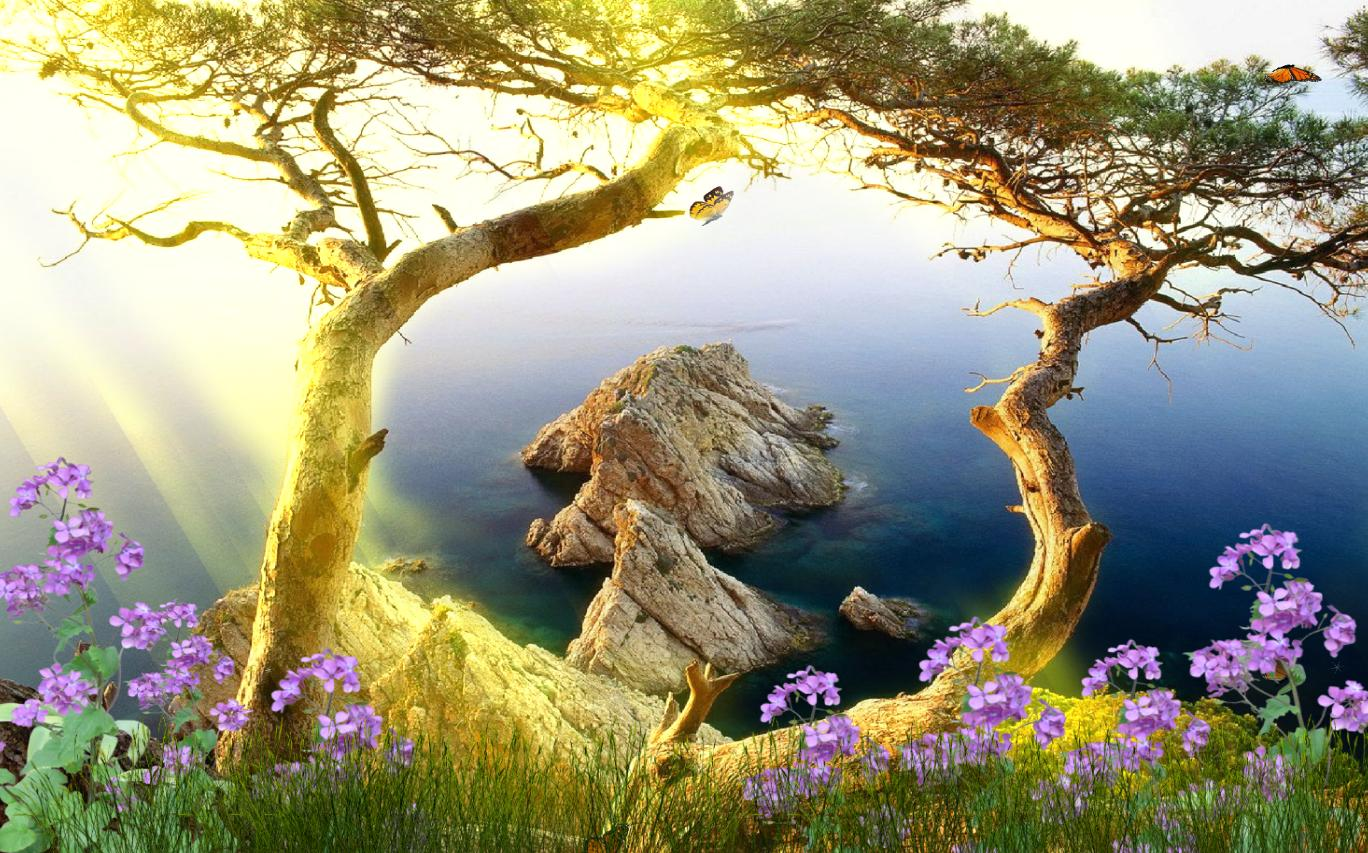 Beautiful Landscape Animated Wallpaper Download