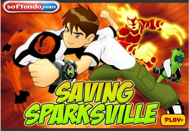 Ben 10 Savin the Spark Download