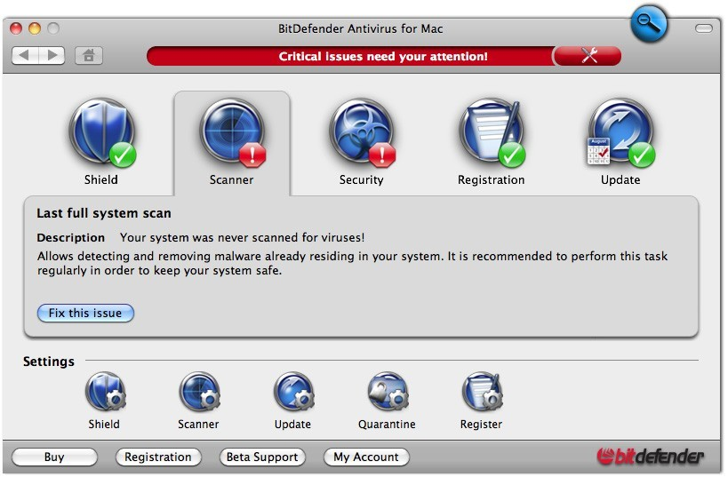 BitDefender Antivirus for Mac 1year1user Download
