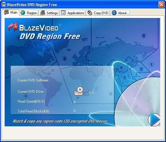 BlazeVideo DVD Region Free Download