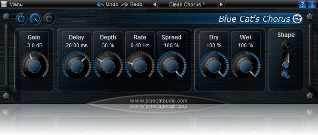 Blue Cat's Chorus for Mac OS X Download