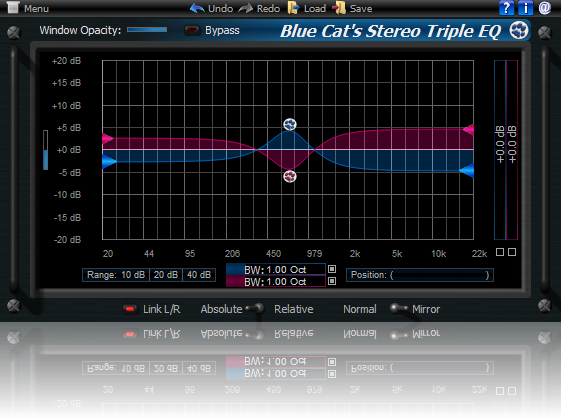 Blue Cat's Stereo Triple EQ for Mac OS X Download