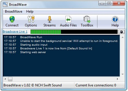 BroadWave Pro Streaming Audio Server Download
