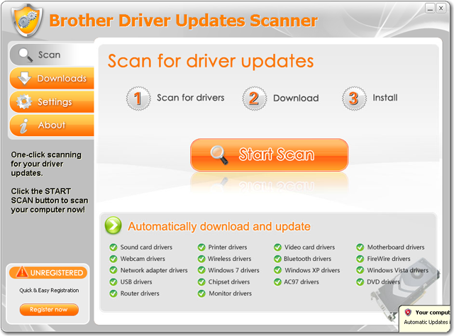 Brother Driver Updates Scanner Download