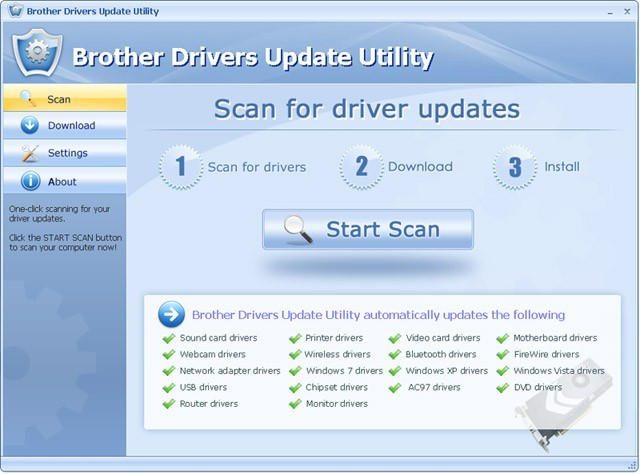 Brother Drivers Update Utility For Windows 7 Download
