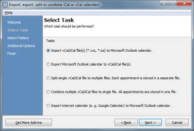 Calendar ImportExport for Outlook Download