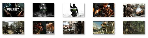Call of Duty Windows 7 Theme Download