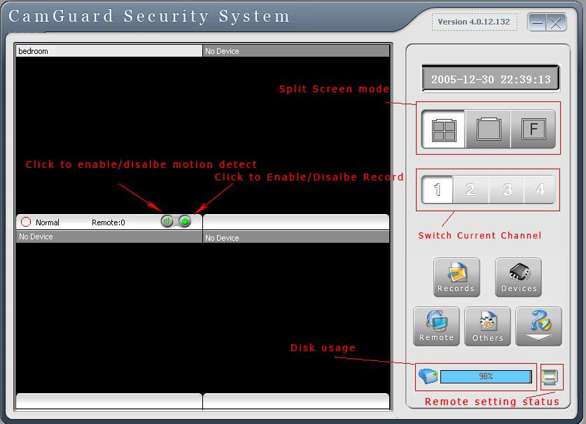 CamGuard Security System (4 Channels) Download