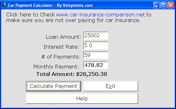 Car Payment Calculator Buddy Download