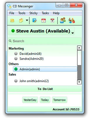 CD Messenger: Office Instant Messenger Download