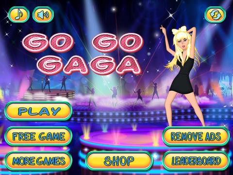 Celeb Runner Lady GaGa Edition - Dancing With The Stars Running Game Download