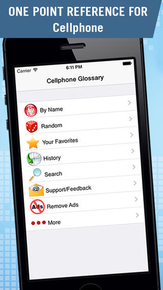 Cell Phone Glossary Download