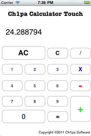 Ch1pa Calculator Touch Download