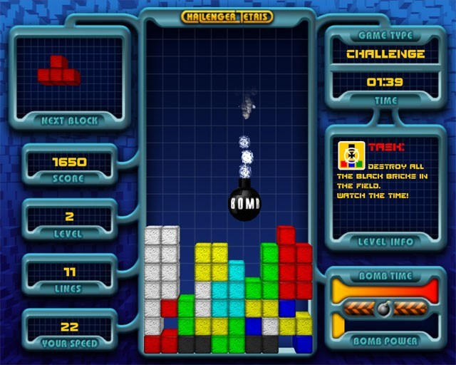 Challenger Tetris Download