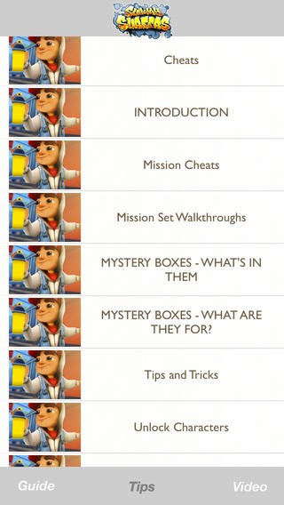 Cheats &Tips, Video & Guide for Subway Surfers - Complete Strategy walkthrough! Download