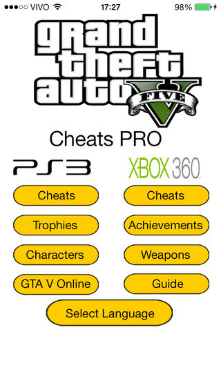 Cheats for GTA V PRO Download
