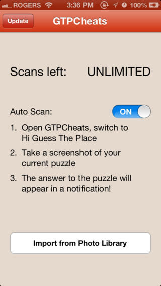 Cheats for Hi Guess The Place - answers to all puzzles with Auto Scan cheat Download