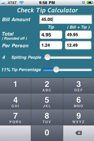 Check Tip Calculator Download