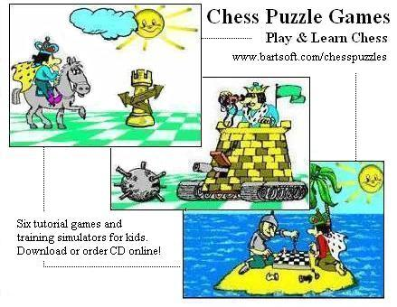 Screenshot, Review, Downloads of Shareware Chess Puzzle Games