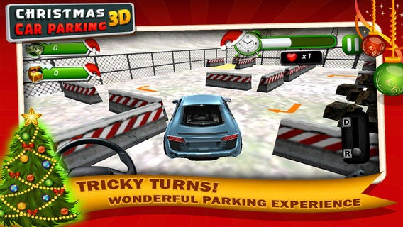Christmas Car Parking 3D-Play Amazing & Exciting New Year Game Download