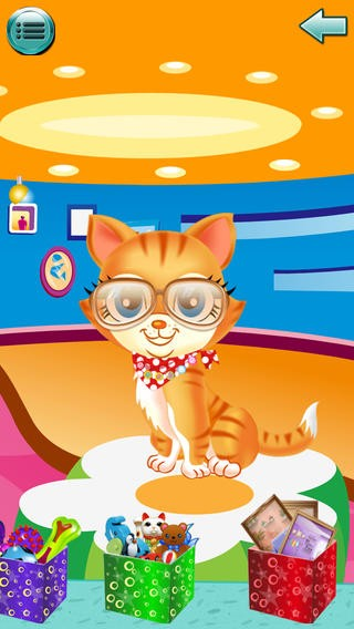 Christmas Cute Pet care ,spa ,dress up - Free Kids Game Download