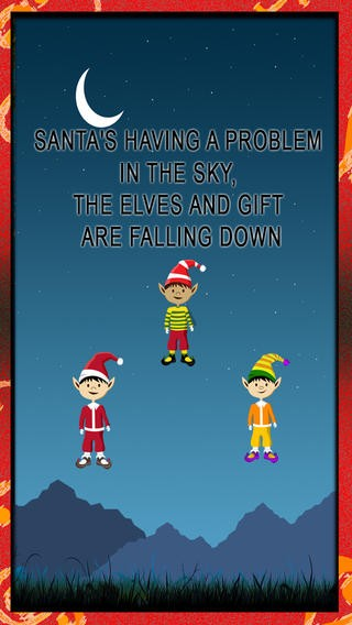 Christmas Gift Rain : Santa Claus dropping presents in the city - Free Edition Download