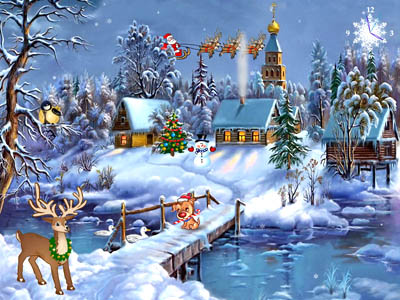 Christmas Symphony Screensaver Download
