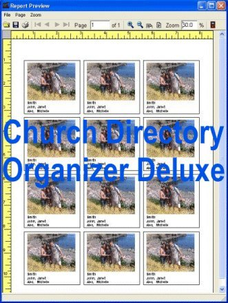 Church Directory Organizer Deluxe Download