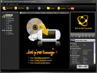Clone2Go DVD to PSP Converter Download
