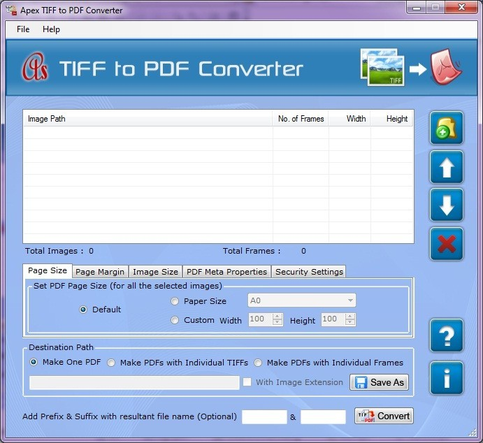 Combine TIFF into PDF Download