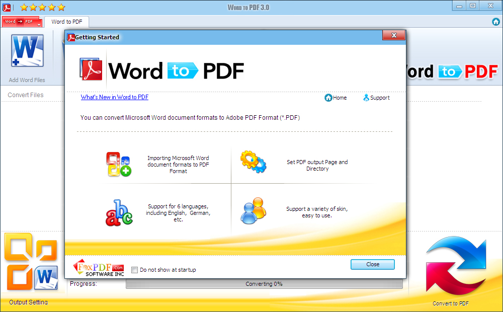 Convert DocX to PDF Download