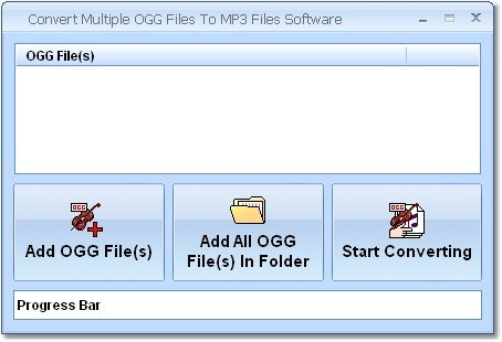 Convert Multiple OGG Files To MP3 Files Software Download