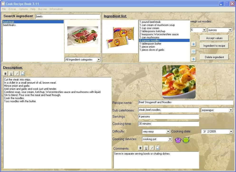 Cook Recipe Book Download