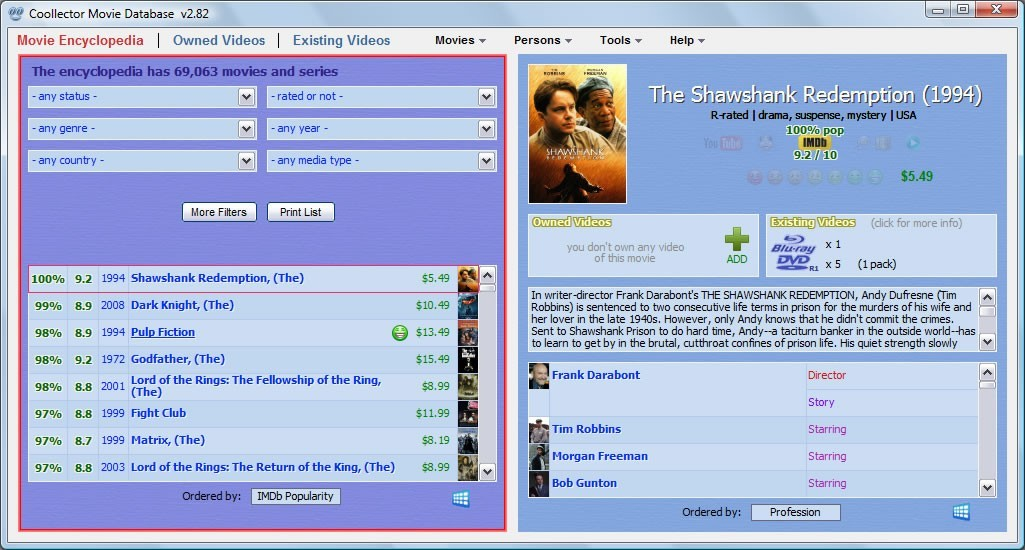 Coollector Movie Database Download