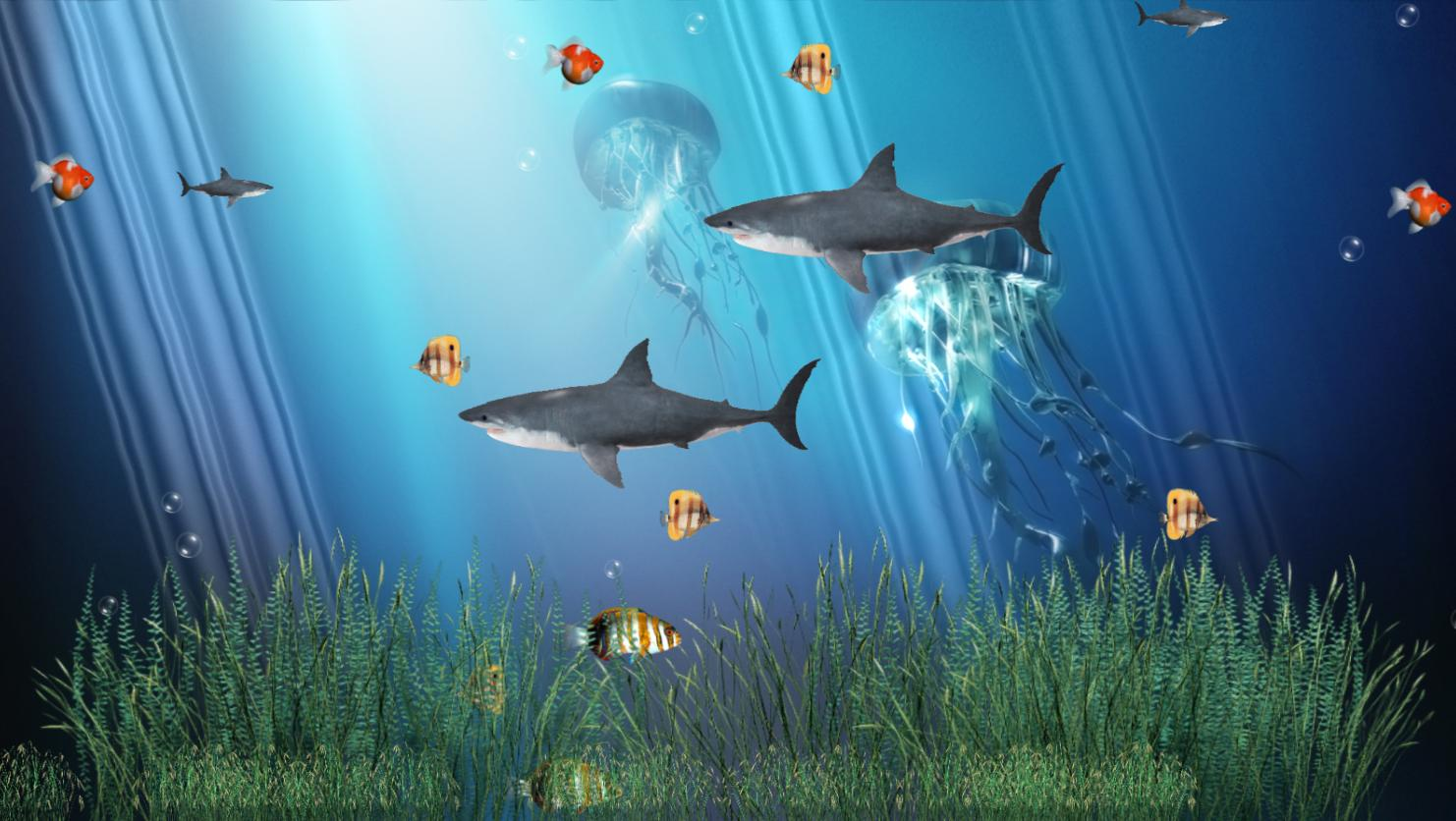 Screenshot review downloads of freeware coral reef for Moving fish wallpaper