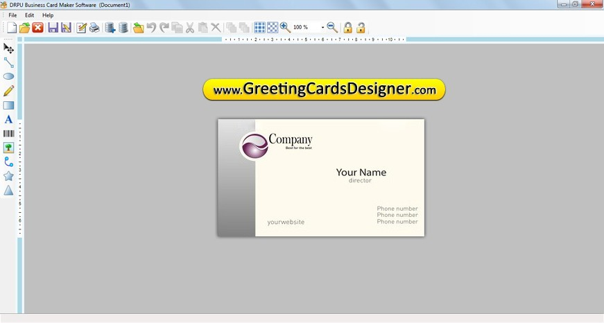 ... create your own cards software presents finest solutions to design and: fileguru.com/create-your-own-cards/screenshot