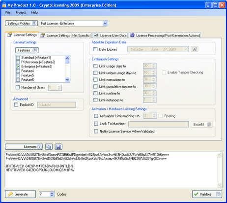 CryptoLicensing For .Net Download