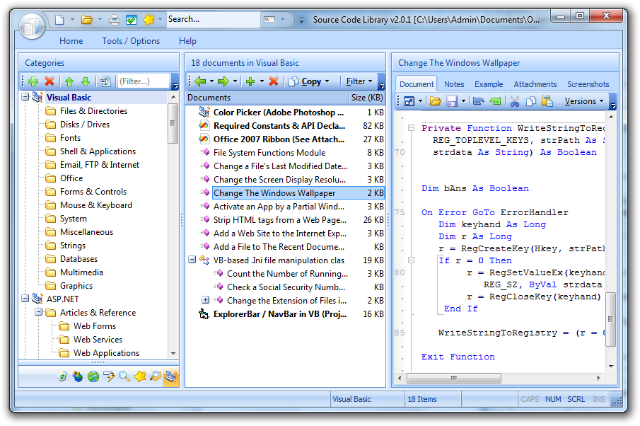 CSharp Code Library Download