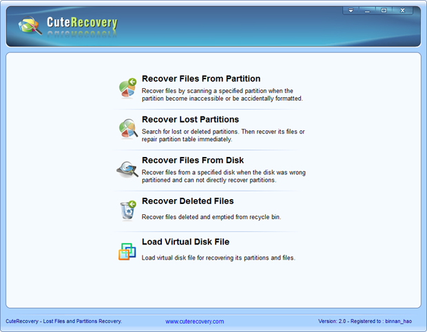 CuteRecovery Download