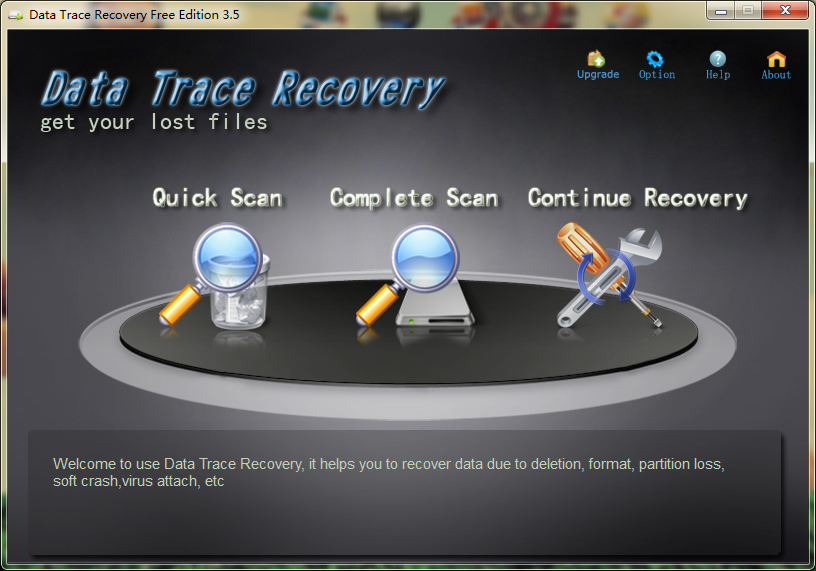 Data Trace Recovery Free Edition Download