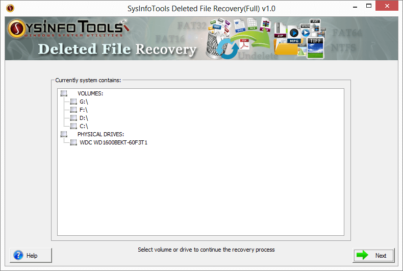 Deleted File Recovery Download