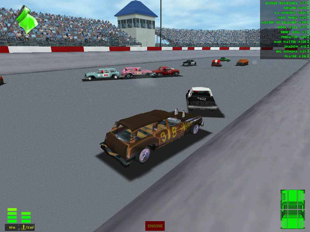 Demolition Derby & Figure 8 Race Download