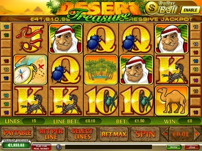 Desert Treasure Slots Portable Download