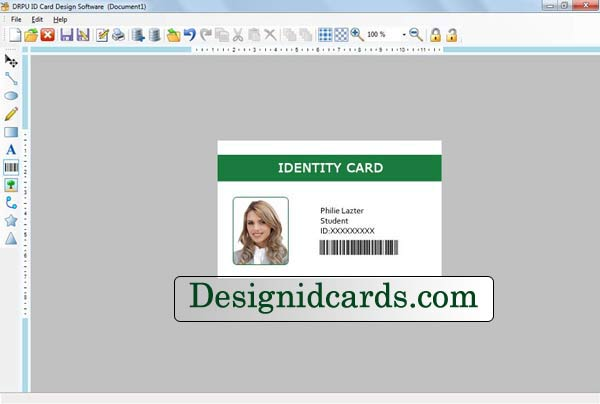 Screenshot Review Downloads of ware Design ID Cards