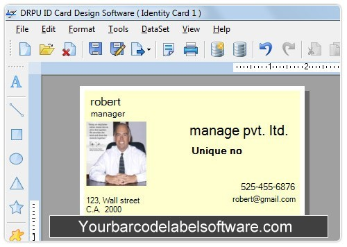 Design Photo ID Card Download