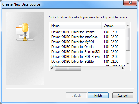 Devart ODBC Driver for Firebird Download