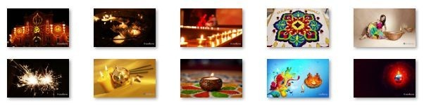 Diwali Windows 7 Theme with sound effect Download