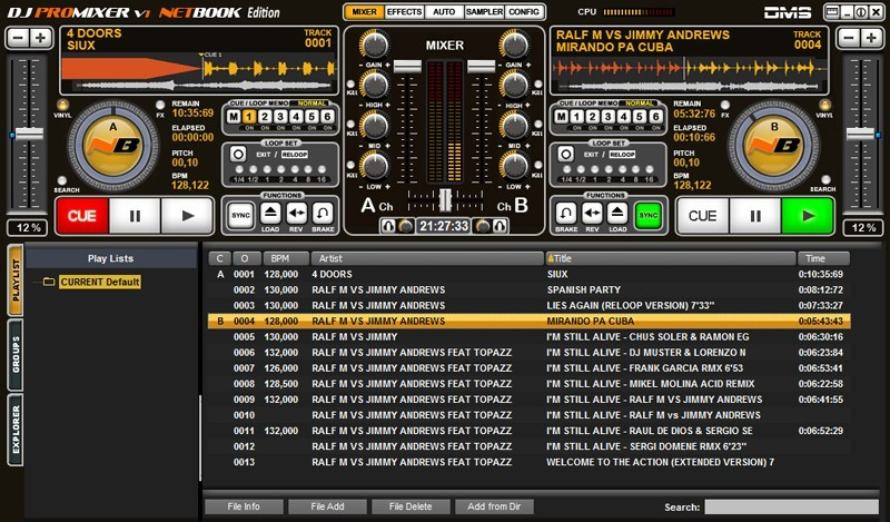 DJ ProMixer NB Netbook Edition Download