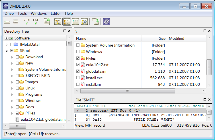 DMDE - DM Disk Editor and Data Recovery Download