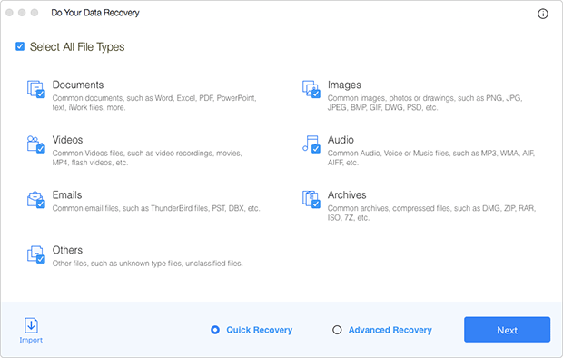 Do Your Data Recovery for Mac Free Download